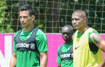 Atlético Nacional recibió una inesperada sorpresa en el entrenamiento