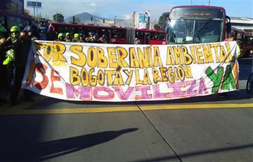 Ciudadanos exigen el cierre de Doña Juana, al sur de Bogotá