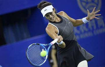 Garbiñe Muguruza avanzó a cuartos de final del Torneo Wuhan