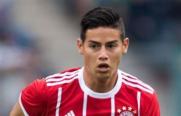 James Rodríguez titular con el Bayern para enfrentar al PSG