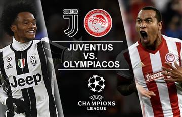 Juventus vs. Olympiacos: Transmisión EN VIVO online