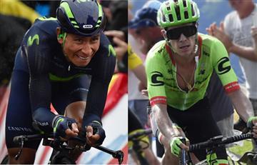Nairo Quintana y Rigoberto Urán entre los grandes de la Clásica Milán Turín