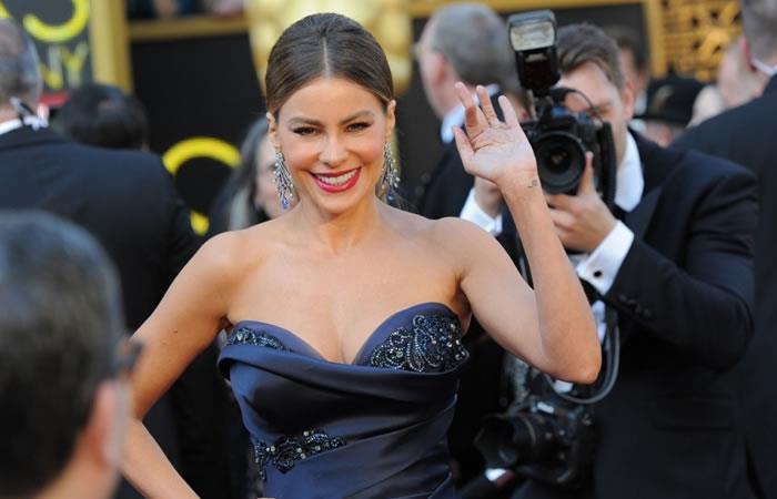 Sofía Vergara por sexto año como la actriz mejor pagada de la TV en Estados Unidos. Foto: AFP
