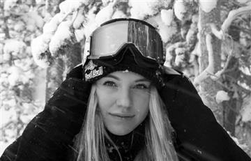 Campeona mundial de esquí encendió las redes con foto desnuda