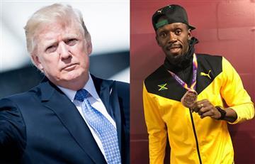 Donald Trump hace nuevas críticas a la NFL y ahora incluye a Usain Bolt