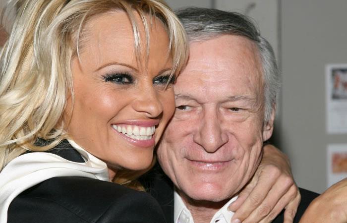 Hugh Hefner: Pamela Anderson lo despide con sentida carta