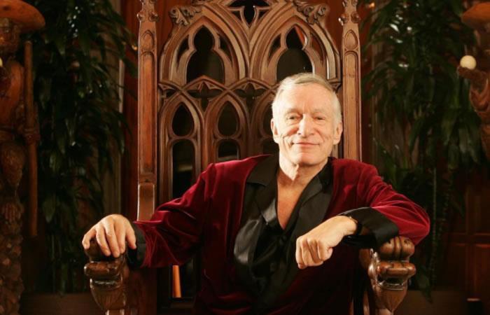 Murió Hugh Hefner, fundador de Playboy