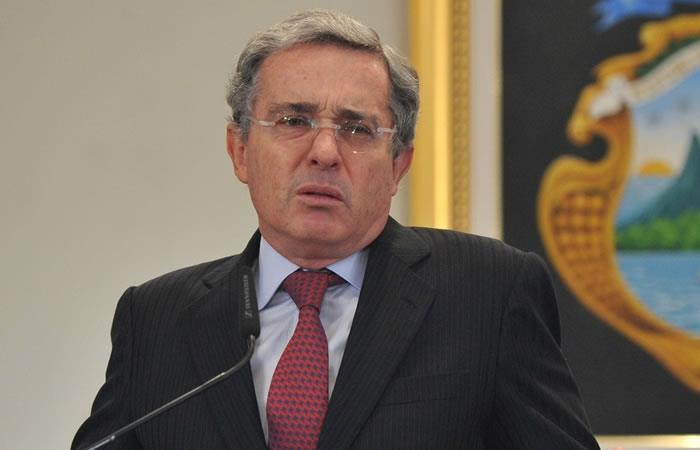 Expresidente y senador Álvaro Uribe. Foto: AFP