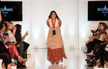 Melisa Amaya deja huella la semana de la moda New York