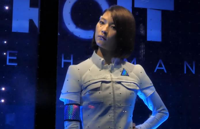Video: Robot 'casi humano' impacta en Tokyo Game Show