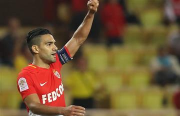 Falcao gana trofeo como mejor jugador del mes de agosto en la League 1