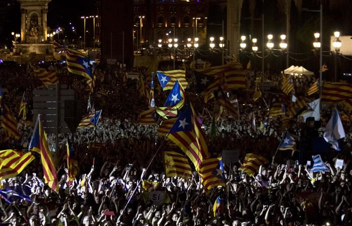 Independentistas catalanes, determinados a mantener con vida el referéndum prohibido