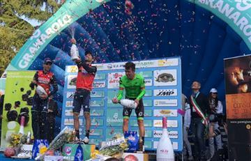 Rigoberto Urán se ubicó en el podio del Giro de Emilia