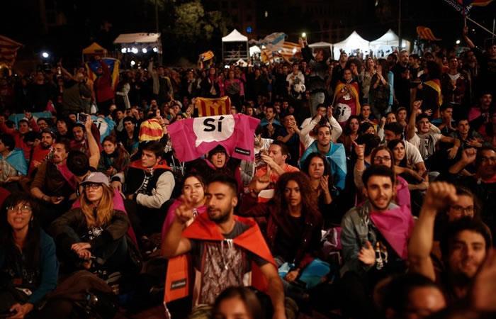 Gobierno catalán afirma que ganó el 'sí' a la independencia