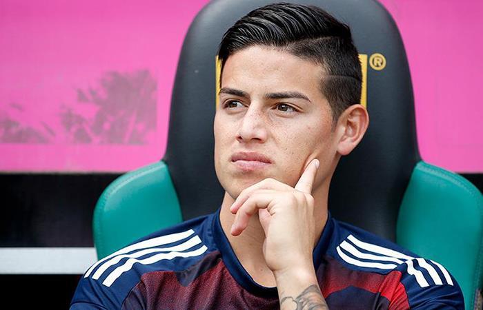 James Rodríguez: Así de mal le fue en el primer partido del Bayern sin Ancelotti