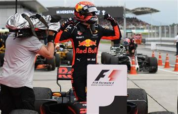 Verstappen gana el GP de Malasia por delante de Hamilton, Vettel cuarto