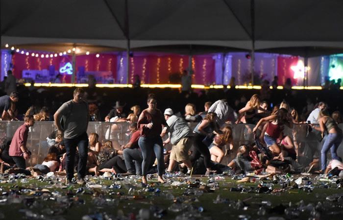 Las Vegas: Autor de tiroteo en concierto se suicidó