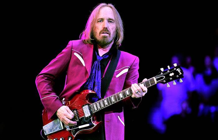 Falleció el cantante de rock Tom Petty. Foto: AFP
