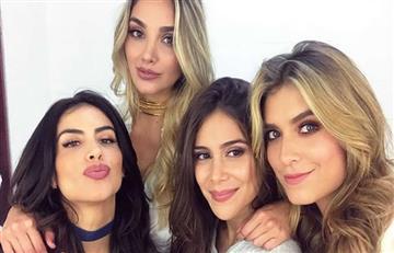Canal Caracol: Cuatro hermosas presentadoras en un mismo programa