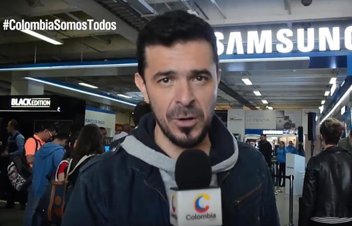 Diego Camargo estuvo en 'El Paredón' de Colombia.com. Foto: Interlatin