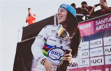 Mariana Pajón lo oficializó y debutará en ciclismo de pista este octubre