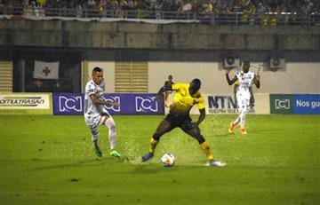 Once Caldas derrotó a Alianza Petrolera bajo fuerte lluvia en partido por la fecha 14