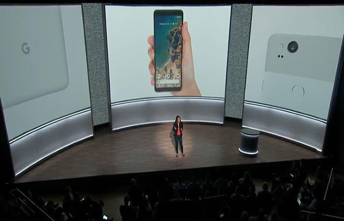 Google: Lanzamiento del teléfono inteligente Pixel 2