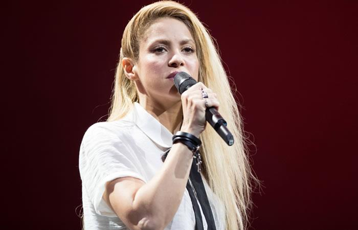 Shakira apoyará programa de E! Entertainment sobre cáncer de mama. Foto: AFP