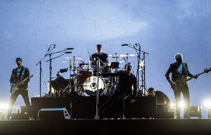 Así fue el magnífico concierto de U2 en México. Foto: AFP