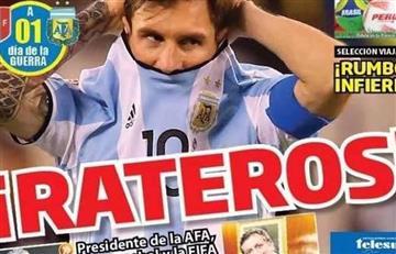 Argentina vs. Perú: Graves denuncias de la prensa peruana ante un posible amaño