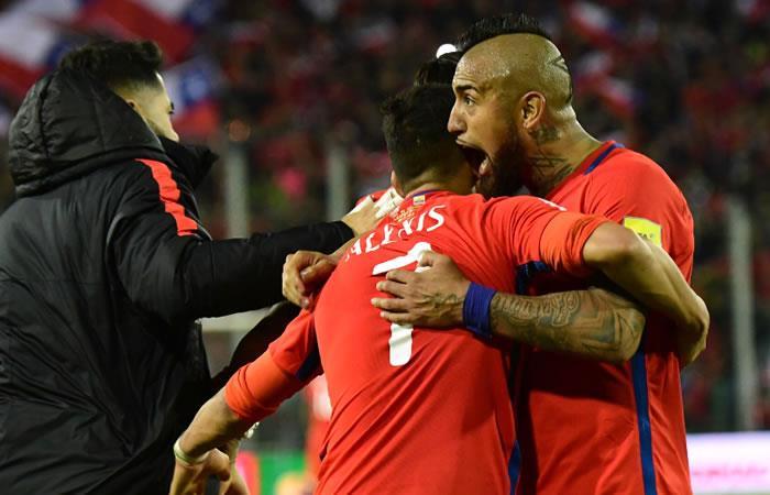 Chile le gana a Ecuador y se mete a la zona de la clasificación de Rusia 2018