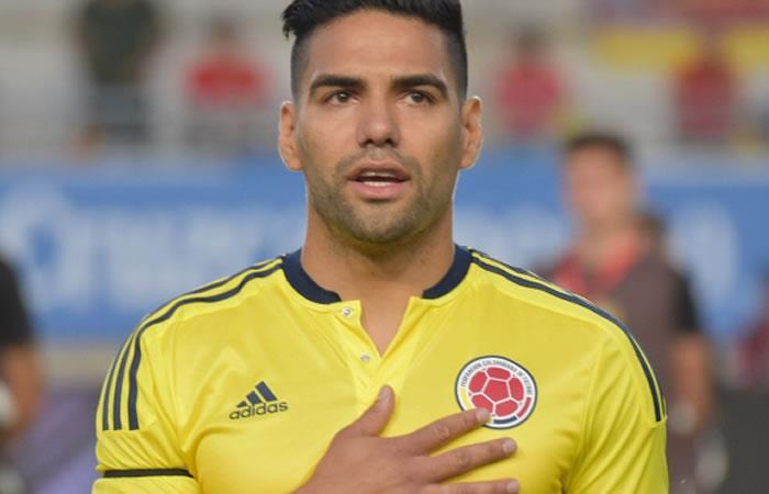 Colombia vs Paraguay: Falcao enternece con su hija recién nacida