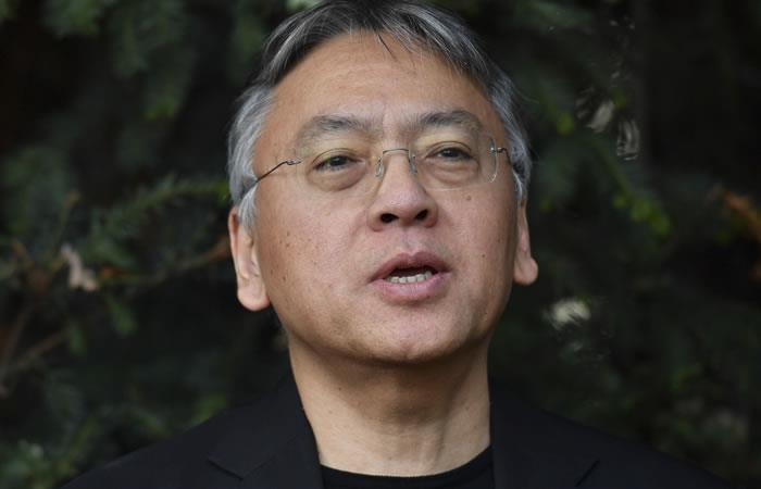 Premio Nobel de Literatura 2017: Kazuo Ishiguro. Foto: AFP