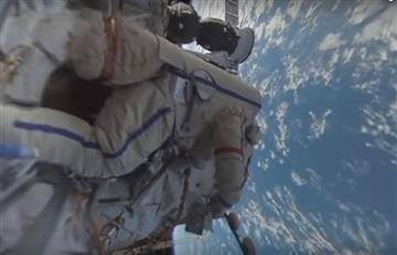 Primer video 360 grados grabado en el espacio