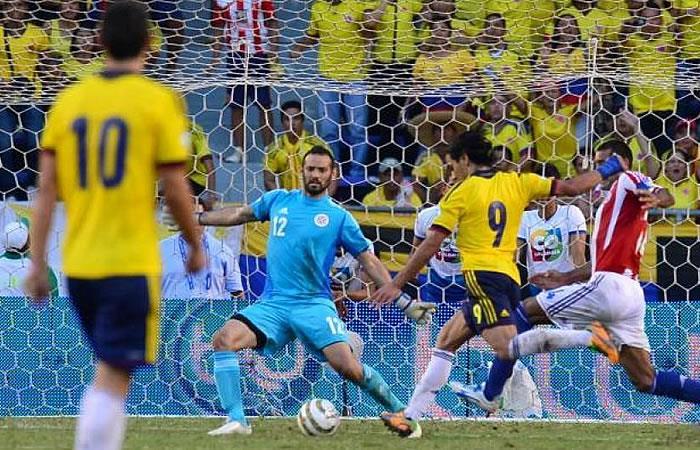 Selección Colombia y el día que Falcao anotó dos golazos a Paraguay