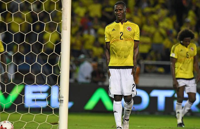 Colombia vs. Paraguay: En fotos, los últimos cinco  minutos de la derrota 'tricolor'