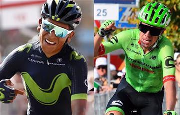 Lombardía: ¿Dónde y a qué hora ver a Nairo Quintana y Rigoberto Urán?
