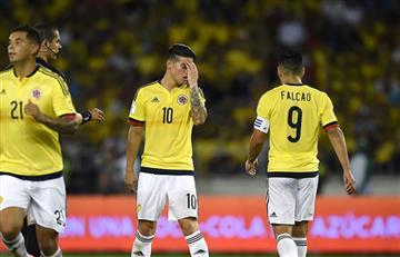 Selección Colombia aplazó su clasificación y lo definirá todo contra Perú