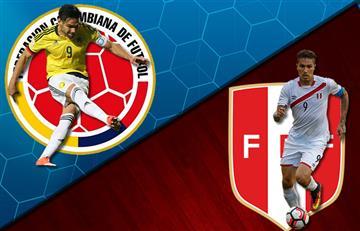 Selección Colombia: Historial de los encuentros contra Perú