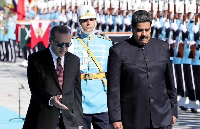 Maduro y Erdogan alcanzan nuevo acuerdo para Venezuela y Turquía