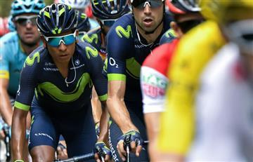 Nairo Quintana el mejor de los colombianos en el Giro de Lombardía