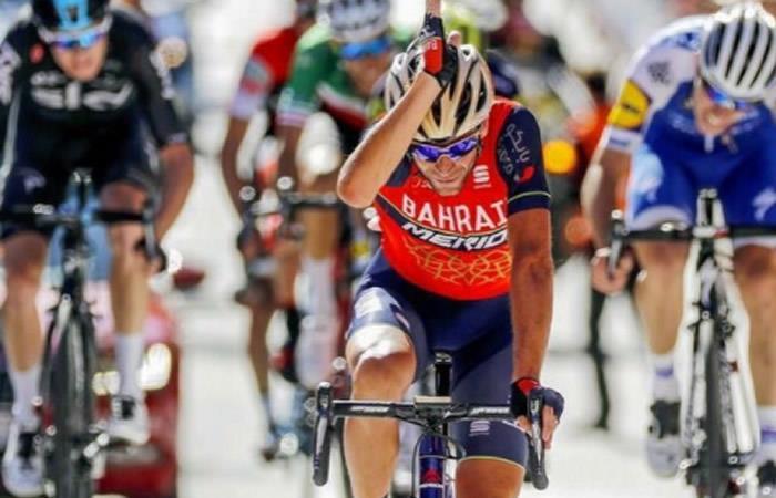 Vincenzo Nibali ganador del Giro de Lombardía