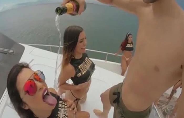 La modelo que sería la DJ invitada de la Fiesta Sexual en Cartagena