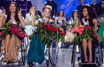 "Miss Mundo en silla de ruedas declara a ""todas ganadoras"""