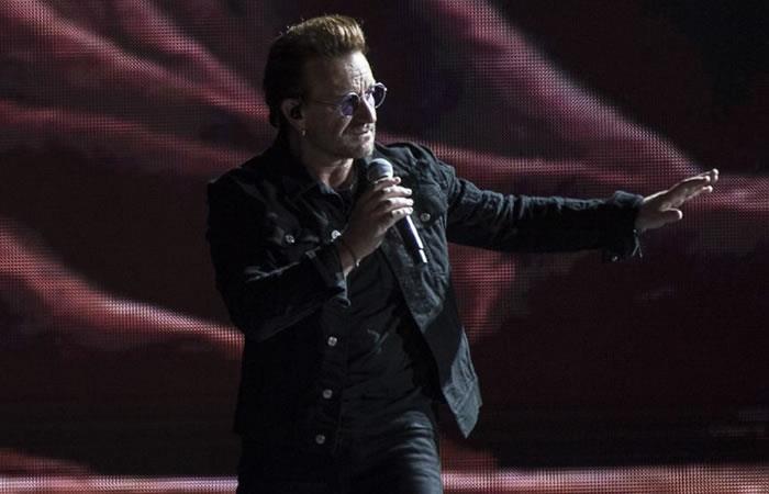 Bono de U2 fue a misa y comulgó en Bogotá