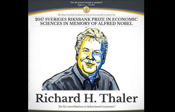 Nobel de Economía 2017: Richard Thaler ganó el premio
