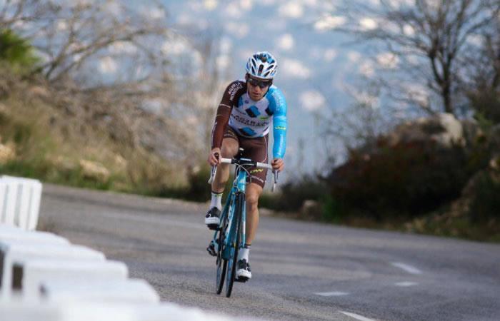 El ciclista Jan Bakelants sufrió siete fracturas de costilla tras fuerte caída