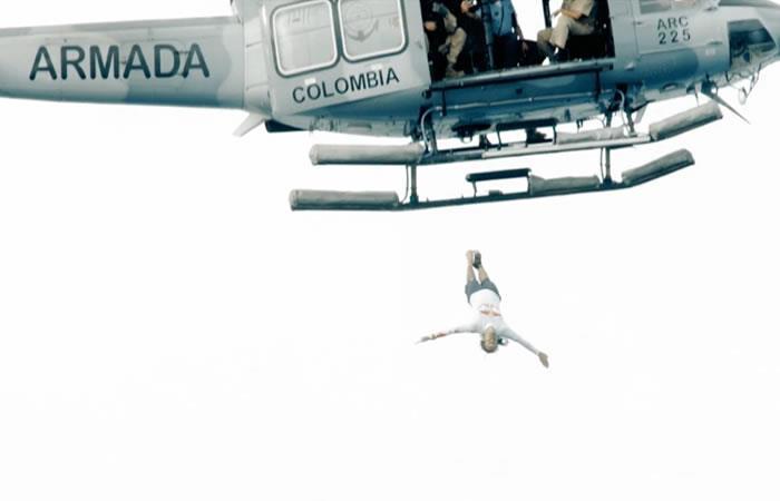 El colombiano Orlando Duque hace emotivo salto en San Andrés
