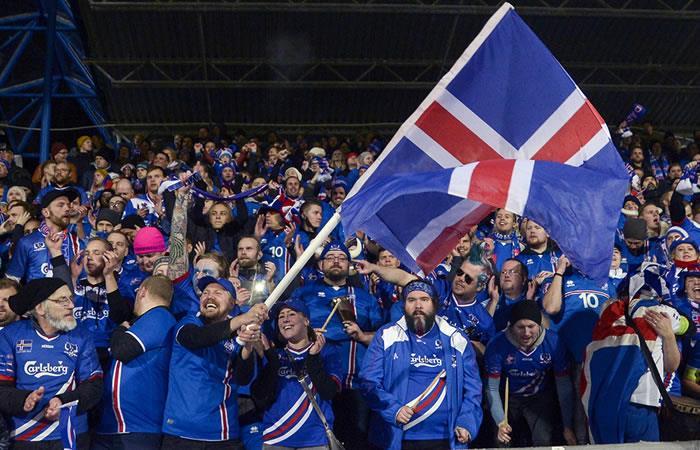 Islandia logra histórica clasificación a Rusia 2018