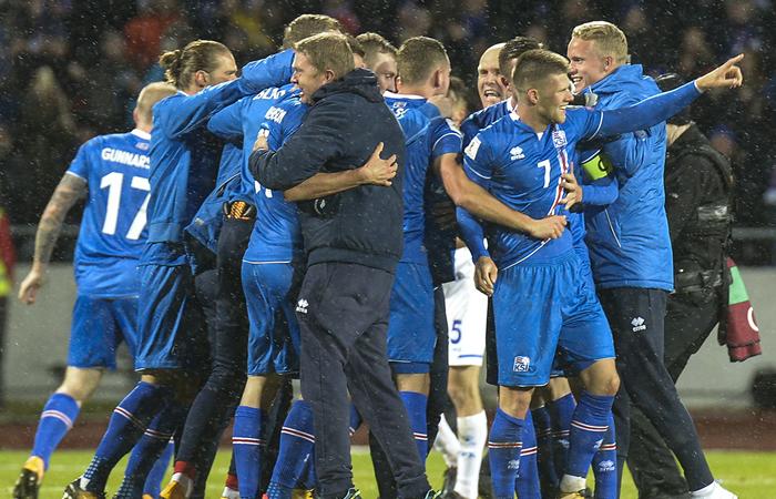 Islandia va por primera vez a un mundial de fútbol